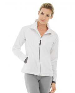 Ingrid Running Jacket-L-White