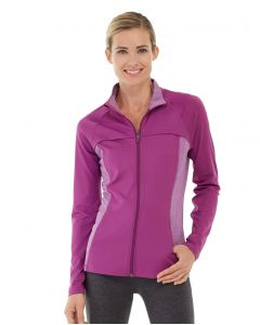 Inez Full Zip Jacket-XL-Purple