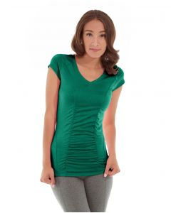 Iris Workout Top-L-Green