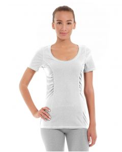 Juliana Short-Sleeve Tee-S-White