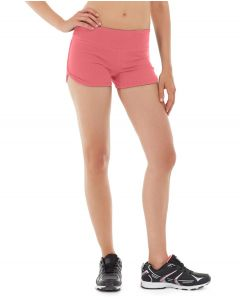 Fiona Fitness Short-32-Red